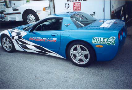 The other Pace Car...kinda like the blue!!