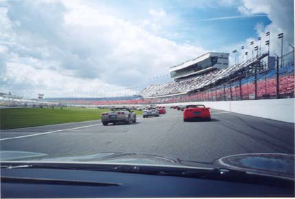 Pace Lap just before the Rolex24hr 1999